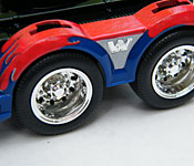 Optimus Prime rear fenders