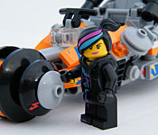 LEGO Super Cycle with Wyldstyle