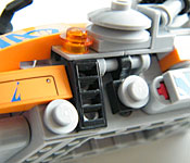 LEGO Super Cycle side detail