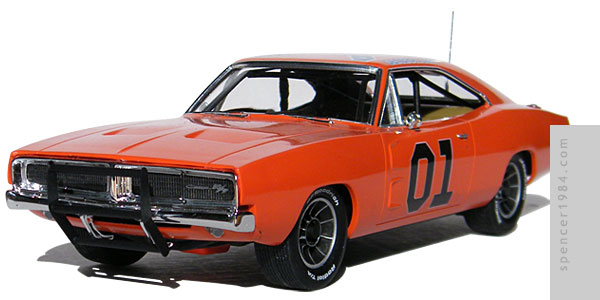 Bo & Luke's General Lee 1969 Dodge Charger from the original TV show The Dukes of Hazzard
