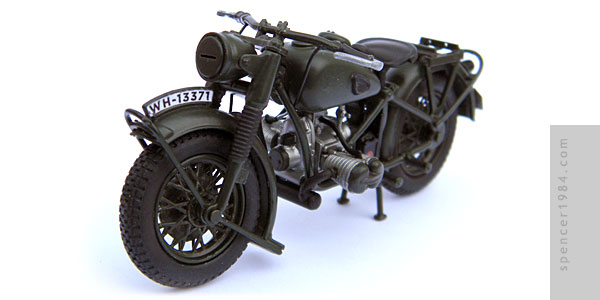 Motorcycle from the movie The Great Escape