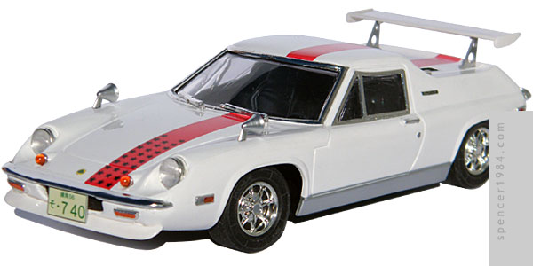 Lotus Europa from the movie The Circuit Wolf