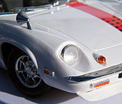 The Circuit Wolf Lotus Europa front detail