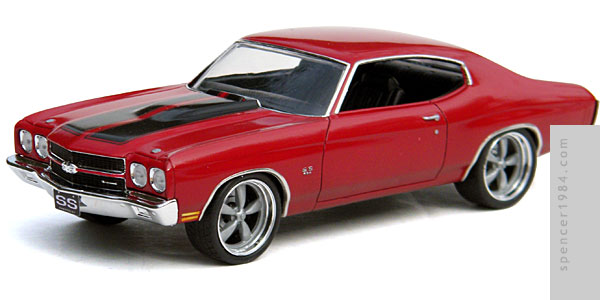 Vin Diesel's 1970 Chevrolet Chevelle from the movie The Fast and the Furious