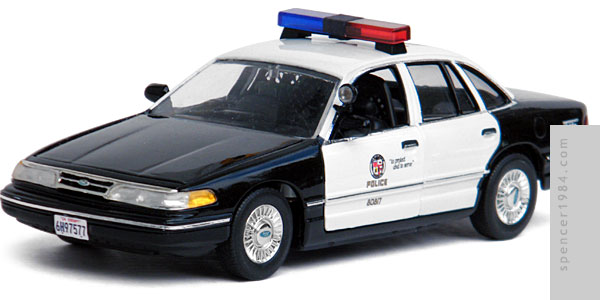 Police Car from the movie Transmorphers 2: Fall of Man