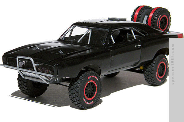 Off-road 1970 Dodge Charger from the movie Furious Seven