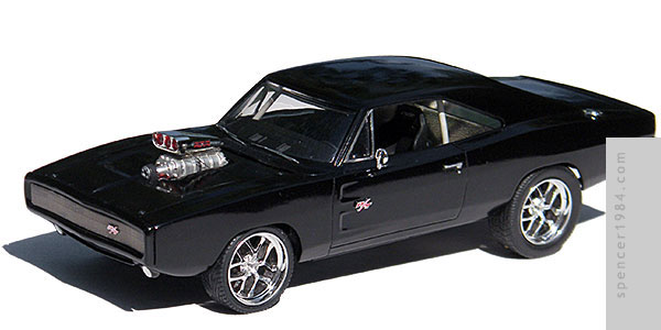 Vin Diesel's 1970 Dodge Charger from the movie Furious Seven
