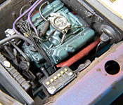 1969 Dodge Charger Daytona engine left side