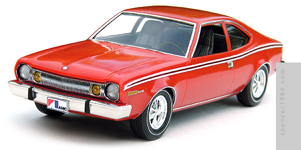 The Man with the Golden Gun 1974 AMC Hornet