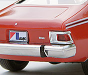 The Man with the Golden Gun 1974 AMC Hornet rear