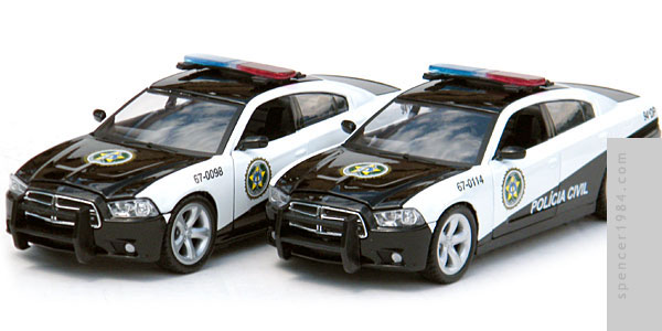 2011 Dodge Charger Pursuit from the movie Fast Five