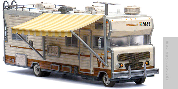 Dale Hovarth's Winnebago Chieftain RV from the AMC TV series The Walking Dead