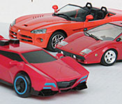Generation 1, Binaltech, and Robots in Disguise Sideswipe rear