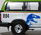 Jurassic Park Toyota Land Cruiser side