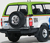 Jurassic Park Toyota Land Cruiser rear