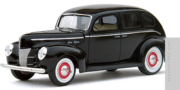 1940 Ford Deluxe from The Silver Spectrum