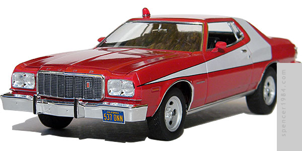 Ford Torino from the movie Starsky and Hutch