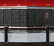 Starsky and Hutch Ford Torino grille detail