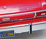 Starsky and Hutch Ford Torino rear detail