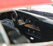 Starsky and Hutch Ford Torino dashboard
