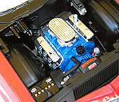 Starsky and Hutch Ford Torino engine right side