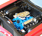 Starsky and Hutch Ford Torino engine left side