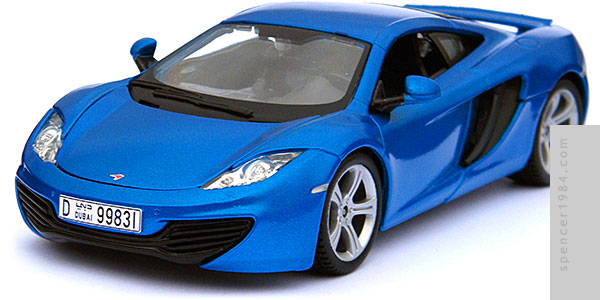 Paul Walker's McLaren MP4-12C from the movie Furious Seven