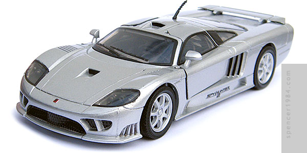Saleen S7 from the movie SpyHunter 2