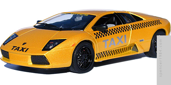 The Night is Still Young Lamborghini Murcielago Taxi
