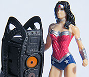 Portal 2 Defective Sentry with 1/24 Wonder Woman