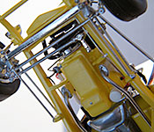Hot for Teacher '32 Ford front chassis detail