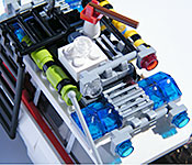 LEGO Ecto-1 roof rack front