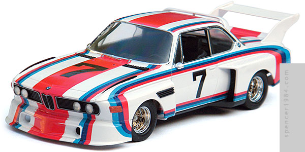 BMW 3.0 CSL from the movie The Circuit Wolf