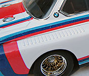 The Circuit Wolf BMW 3.0 CSL front detail