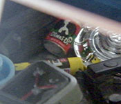Ghostbusters Pre-Ectomobile interior detail