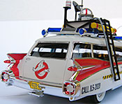 Ghostbusters Ectomobile rear