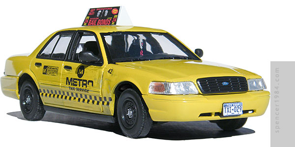 Taxi from the movie Deadpool