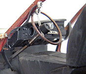 Half-Life 2 1969 Dodge Charger steering wheel