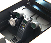 1992 Batmobile cockpit right