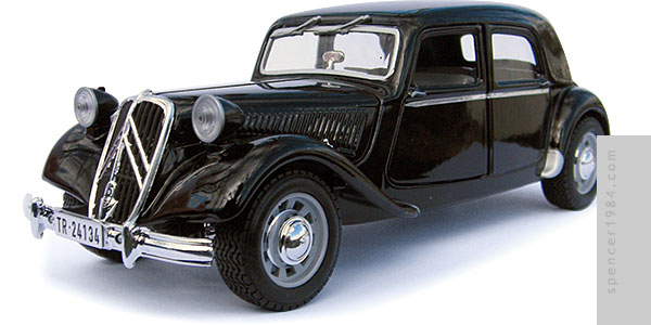 Citroen Traction Avant from the movie The Trollenberg Terror (aka The Crawling Eye)
