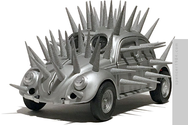 VW Hedgebug from the movie The Cars that Ate Paris