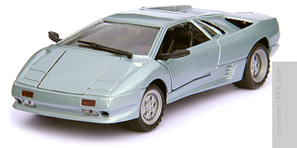 Lamborghini Diablo from the movie SpyHunter