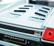 SpyHunter Lamborghini Diablo rear detail