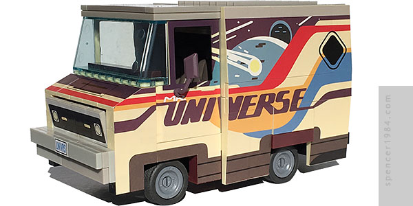 Dale Hovarth's Mr. Universe Van from the Cartoon Network series Steven Universe