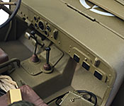 Kelly's Heroes Jeep dashboard