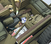 Kelly's Heroes Jeep supplies