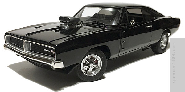 "Ghost Rider's 1969 Dodge ""Hell Charger"" from the TV series Marvel: Agents of S.H.I.E.L.D."