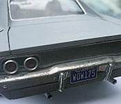 The Philadelphia Experiment 1968 Dodge Charger rear