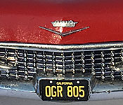 A Nightmare on Elm Street Cadillac front detail