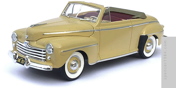 1948 Ford Convertible from the movie The Karate Kid